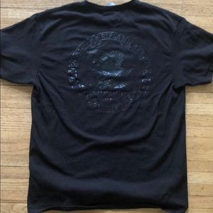 "NRA ""black out"" T-Shirt Large"